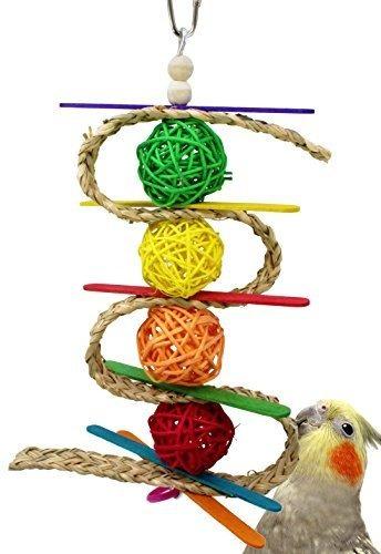 Bonka Bird Toys 00156 Chewballishous Bird Toy Loro Jaula Jug