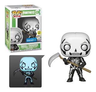 Skull Trooper Fortnite Glows In The Dark Funko Pop