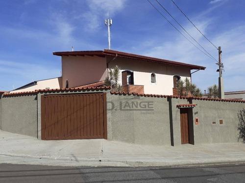 Casa 3 Dormitórios À Venda, 266 M² Por R$ 700.000 - Jardim Antonio Von Zuben - Campinas/sp - Ca14131
