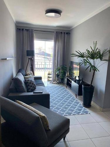 Imagem 1 de 15 de Apartamento À Venda, 80 M² Por R$ 300.000,00 - Vila Santana - Sorocaba/sp - Ap1855
