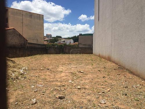 Terreno, 325 M² - Venda Por R$ 800.000,00 Ou Aluguel Por R$ 3.000,00/mês - Parque Das Nações - Santo André/sp - Te1107