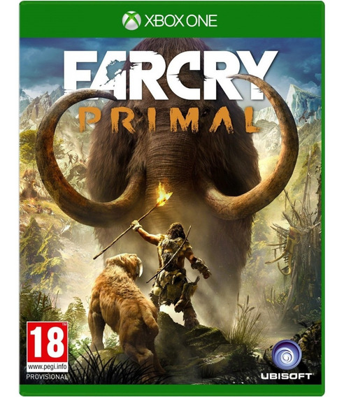 Jogo Farcry Primal Xbox One Disco Fisico Cd Original Novo Lacrado Português Promoção