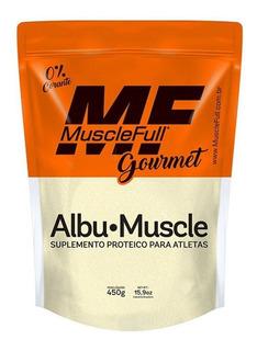 Albumina Muscle Full Sabor Laranja 450g Val 07/20