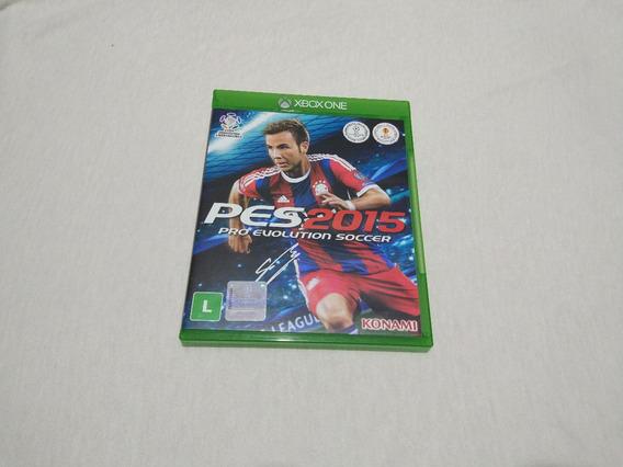 Pes 2015 Xbox One Mídia Física - Zerado