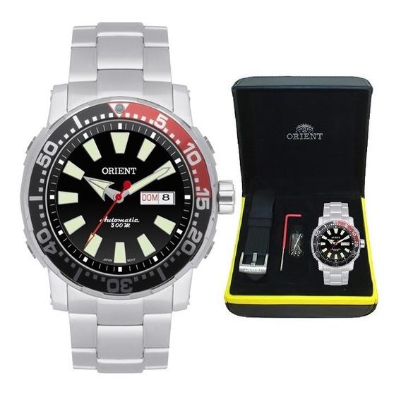Relógio Orient Masculino Automático 469ss039 Pvsx + Pulseira