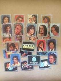 78 Figurinhas Álbum Tv Globo De 1980