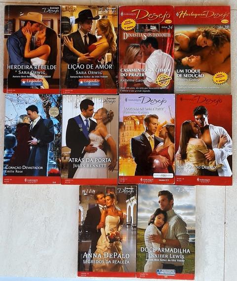 Romance Desejo Ou Jessica (do Tipo Julia Sabrina ) 10 Livros