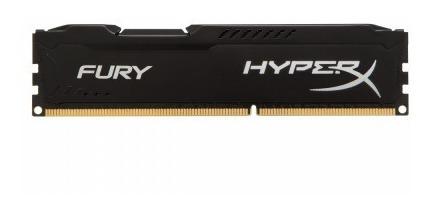 Memoria Ram Hyperx Fury Black Ddr3, 1866mhz, 8gb, Non-ecc.