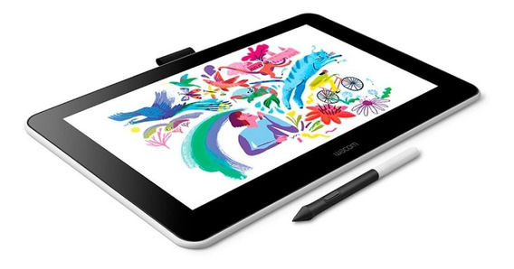 Tableta Gráfica Wacom One Dtc133 Creative Pen Display Pc
