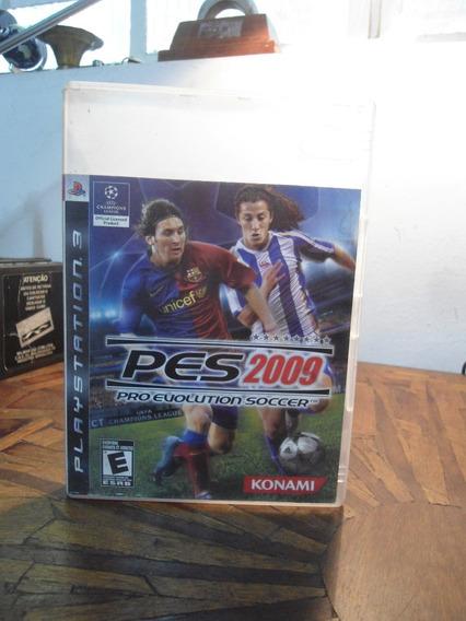 Jogo Para Play 3 - Pes 2009 - Original