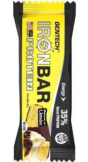 Iron Bar Gentech 20 X 46grs Barra Proteica Sin Tacc Celiacos