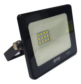 Reflector Led 10w Bajo Consumo Alta Potencia Exterior Baw