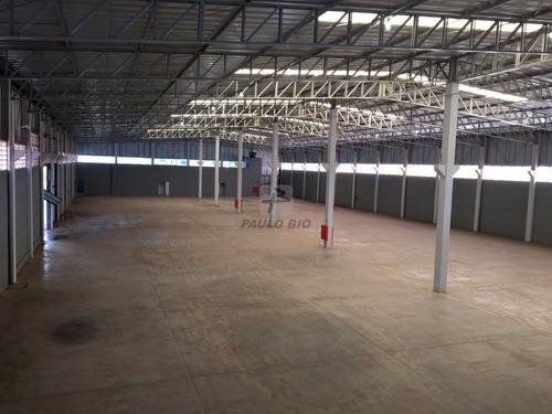Galpao Industrial - Loteamento Empresarial Tatui-i - Ref: 6787 - L-6787