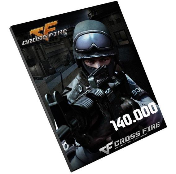 Cartão Crossfire 140000 Zp Cash Jogo Pc Melhor Preço