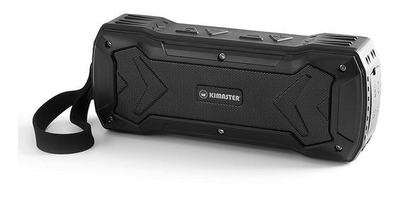 Caixa De Som Bluetooth K335 Preta Com Anatel