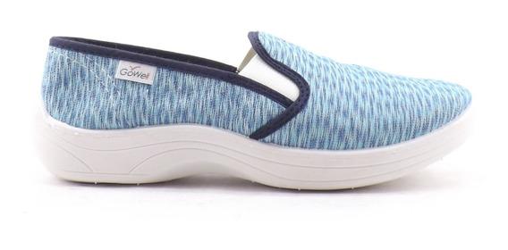 Zapatillas Pancha Jaspeada Dama Mujer Elasticos Liquidacion