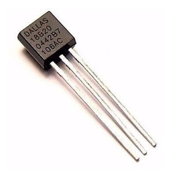 Sensor Digital Temperatura Ds18b20 -55ºc A 125ºc Nubbeo