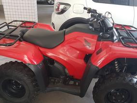 Quadriciclo Honda Fourtrax 2014 Aceito Cartao