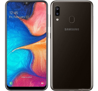Telefono Samsung A20 6.2 32gb+3gb Ram+32gb Sd