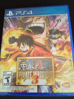 One Piece Pirate Warriors 3 Ps4 Nuevo Sellado