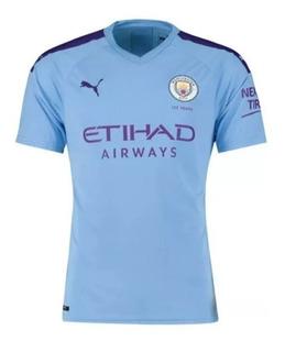 Camisa Nova Manchester City I E Ii 2019/2020 Envio Imediato