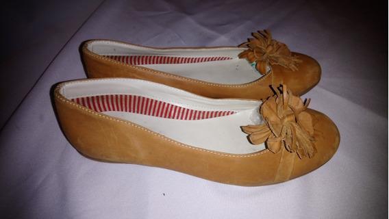 Zapatos Cuero Marca Batistella Nº35