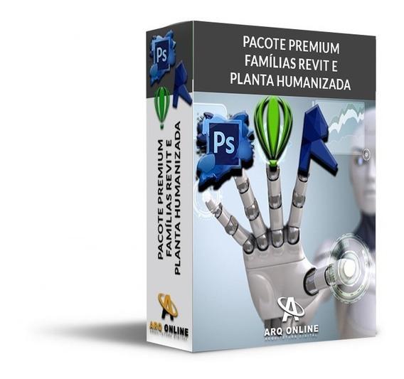 Pack Biblioteca Completa Famílias Revit (40gb) + 5 Bônus