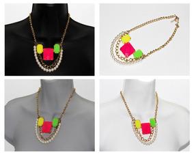 c18542688346 Cuentas De Cristal De Colores Para Hacer Collares en Mercado Libre ...