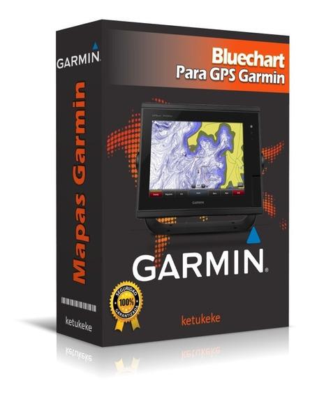 Bluechart G2 Vision Cartas De Navegación Gps Garmin Marina