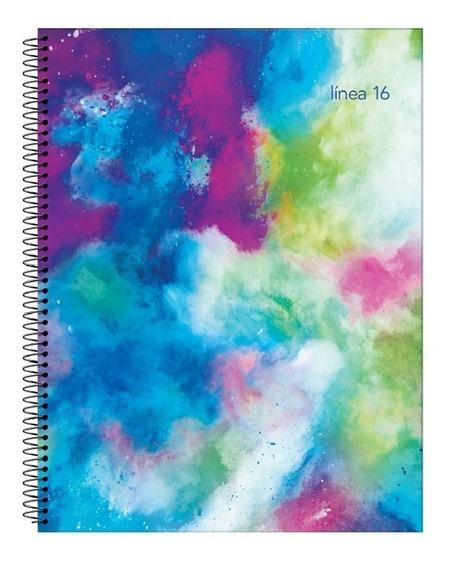 Cuaderno A4 Universitario 84 Hojas Linea 16 Rayado