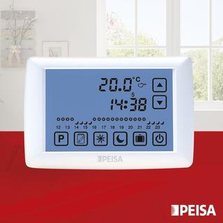 Termostato Ambiente Digital Programable Tactil Peisa Cuotas