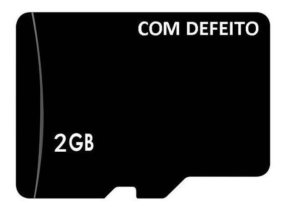 Micro Sd, Lote Com 20 Cartao De Memória 2gb - Com Defeito