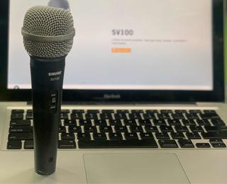 Micrófono Shure Orginal Sv100 Ideal Para Voces