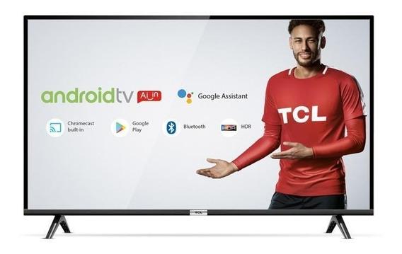 Smart Tv Led 43 Tcl S6500 Controle Remoto Com Comando De Voz