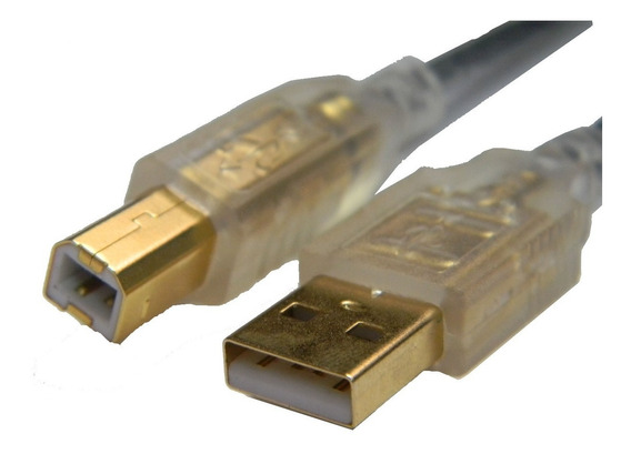 Cabo De Impressora Usb Hi-speed 2,0 Laser Scaner 3 Metros