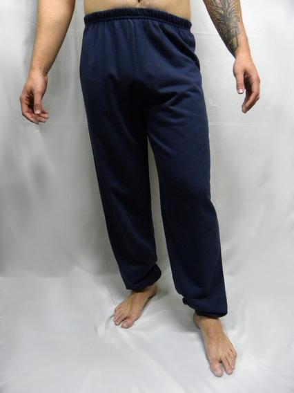 Calça De Pijama Masculina Em Moletom Felpado Da Hering