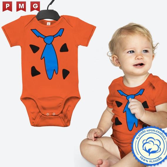 Body Fred Flintstone Bebê Flintstones Fantasia Aniversário