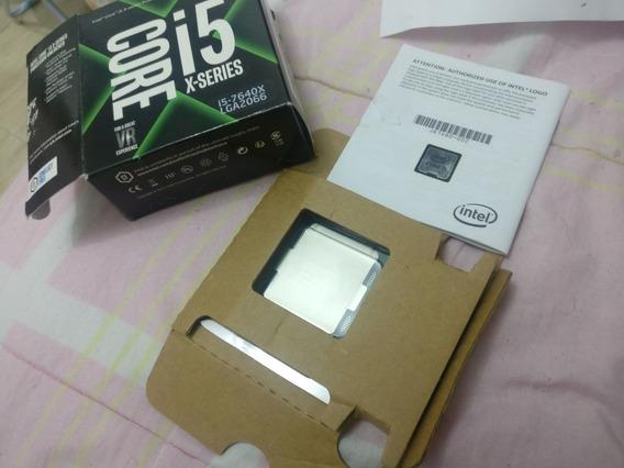 Intel Core I5 7640x 4.2ghz 6mb Lga 2066 Box C/nf E Garantia