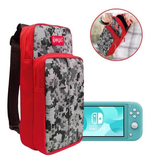 Bolsa Mala Nintendo Switch E Lite Maleta Case Bag Viagem G17