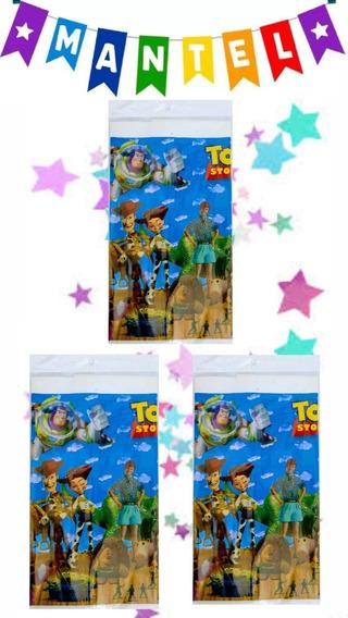 Toy Story -- 3 Manteles Rectangulares Para Tablon.