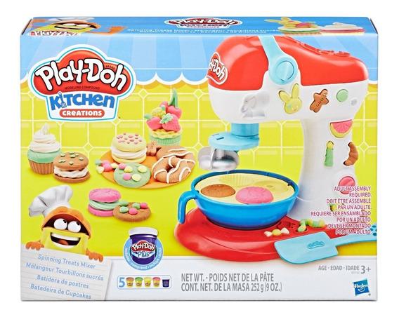 Juego De Masas Hasbro E0102 Play-doh Cocina Batidora Postre