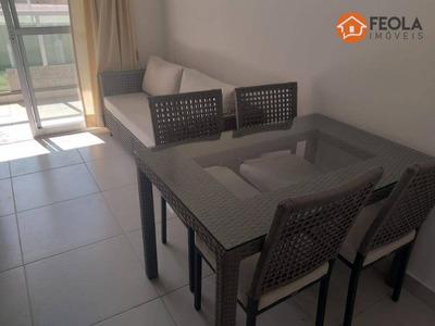 Apartamento 3 Quartos Totalmente Mobiliado - Ap0291