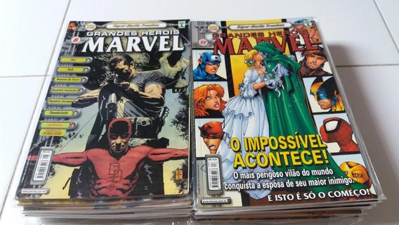 Coleção Grandes Herois Marvel Premium Completa - Ed. Abril