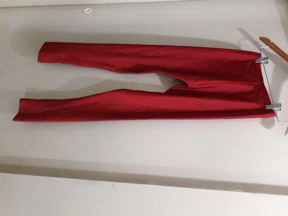 Calza Rojo Talle S Muy Buen Estado Con Detalle X Tigrecentro