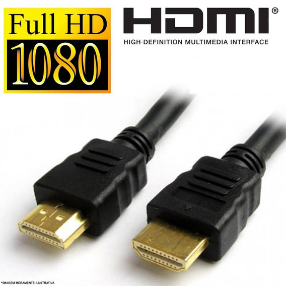 Cabo Hdmi 1080p Ultra 4k Ps4 Xbox Switch Blu-ray Pc 3 Metros