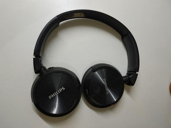 Fone Bluetooth Philips Shb3060 C/ Defeito Para Retirar Peças