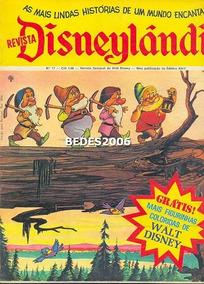 Disneylândia Nº 17 - Editora Abril - 1972