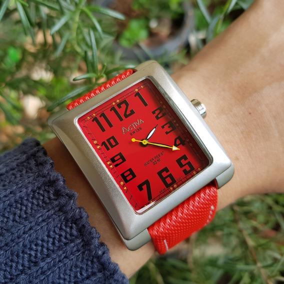Relógio Masculino Activa Cuadro Quartz Swiss Movement