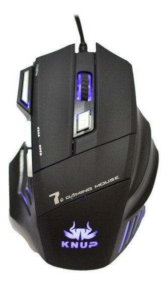 Mouse Gamer Stone Óptico X9 6 Botões Pc Usb Dpi Jogos