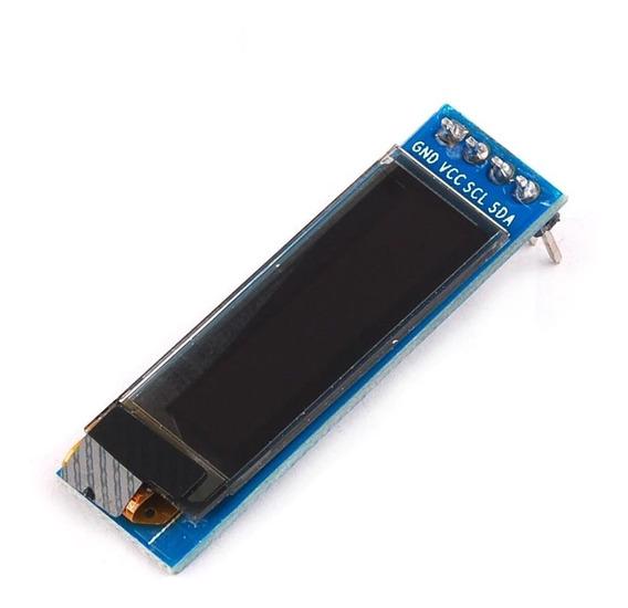 Display Oled 128x32 0.91 I2c Azul Para Arduino Esp8266 Esp32
